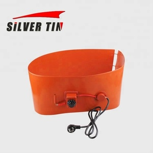 110v/120v 1500W Silicon Band Drum Heater WVO Oil Biodiesel Plastic Metal Barrel