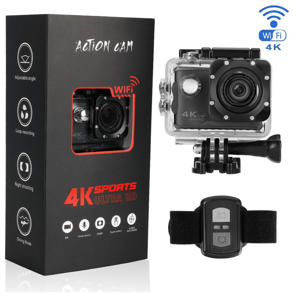 Cheap Go Pro Sports Camera Find Deals On Line Action Sport Cam 4k Full Hd With Remote Get Quotations Btime B100pro Waterproof Touchscreen Voice Control Wi Fi And 24