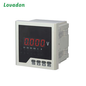 Single Phase two wire panel mounted Digital voltmeter voltage Meter