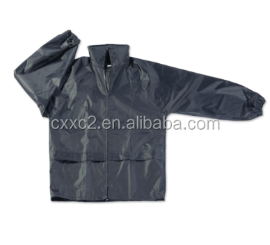 Military PVC/Polyester Water Proof Rain Suit