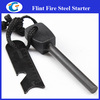 camping survival magnesium fire starter waterproof