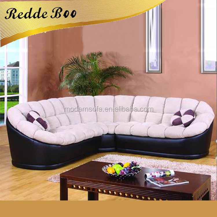 Luxury leather fabric 3+2+1 sectional sofa A1001#