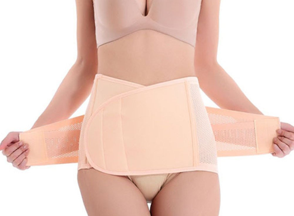 9f95429e8b8 Get Quotations · EUBUY Elastic Breathable Ventilation Postpartum Postnatal  Pregnancy Belt for hips Waist slimming shaper wrapper abdomen Support