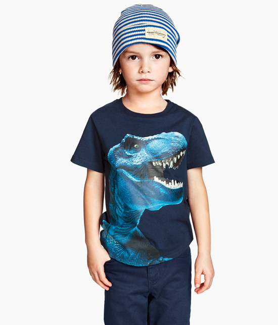 New Arrival Boys 3D Dinosaur Shirts Kids Cotton Tshirt Short Sleeve Children Tees Boys Clothes Tops Summer Style Clothing TA39