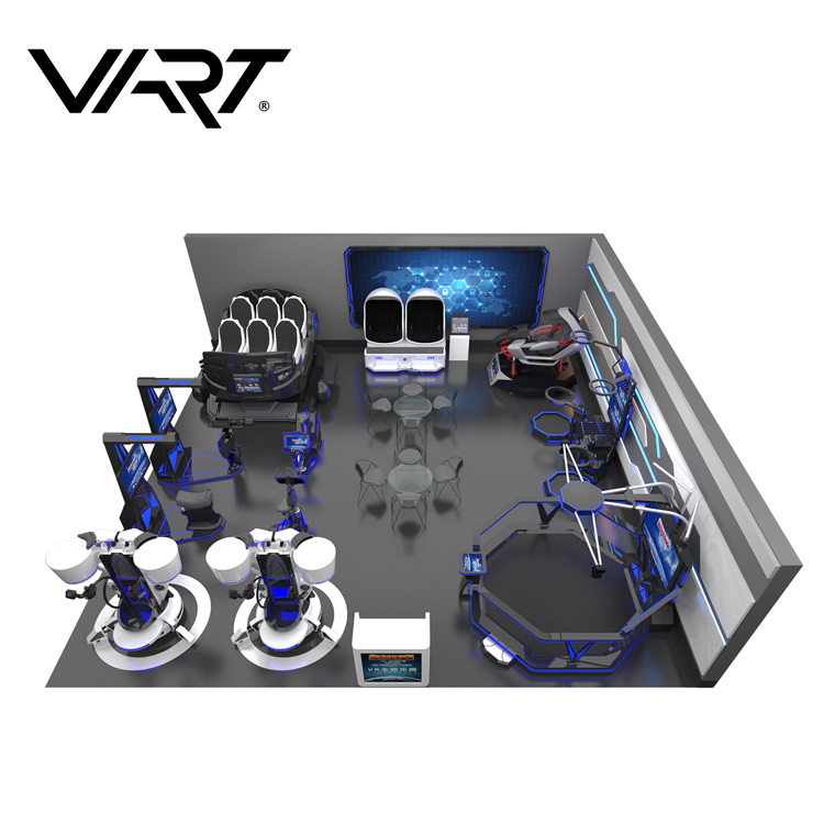9D VR Egg / Racing Car Simulator Space Themed Virtual Reality Park for Play Game