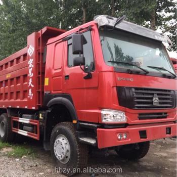 Sinotruk Howo 6x4 336hp 10 Wheel Tipper Trucks 16m3 18m3