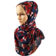 Wholesale Fashion Muslim Ladies Hijab Printed Instant Shawls Jersey Scarf Scarves Wraps Women Sexy Arab Cotton Plain Wrap Hijabs