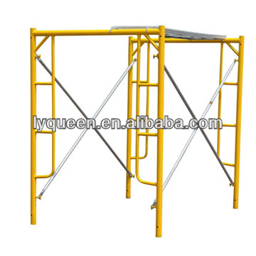 Q235 Steel high quality Metal Galvanized Scaffolding Ladde Frame Used for Building