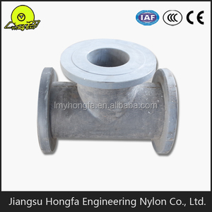 MC Nylon Equal Tee Pipe Joint flexible joint for PA6 china supplier