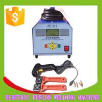 SH20-315plastic pipe butt fusion welding machine maual butt fusion welding machine ppr pipe welding machine
