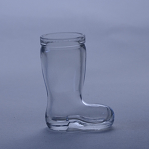 high quality shoe shaped glass bottle for perfume/perfume glass bottles