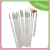 Nail polish brush set made in china ,h0tbK nail art drawing pens for sale