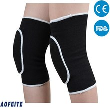 AFT 2017 Hot Sale Knitted High Elastic Breathable Knee Leg Suport Sleeve Brace