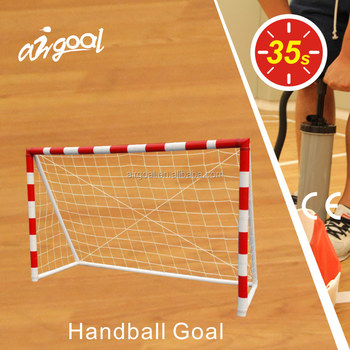 handball training equipment 240cmx170cm inflatable. Black Bedroom Furniture Sets. Home Design Ideas