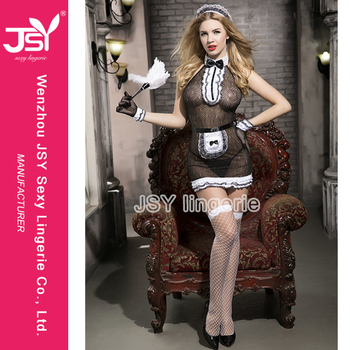 JSY Instyles Halloween Costume Sexy Japanese Maid Roleplay French Maid Costume  sc 1 st  Alibaba Wholesale & Jsy Instyles Halloween Costume Sexy Japanese Maid Roleplay French ...