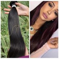 No lice no grey hair 100% human hair natural color indian remy hair