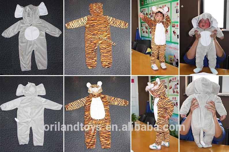 Mewah Mewah Kostum Kartun Tiger Kostum Maskot dari Cina Icti Audit Pabrik