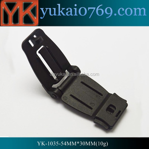 Yukai luggage accessory belt buckle plastic quick release bag buckle quick lock buckle