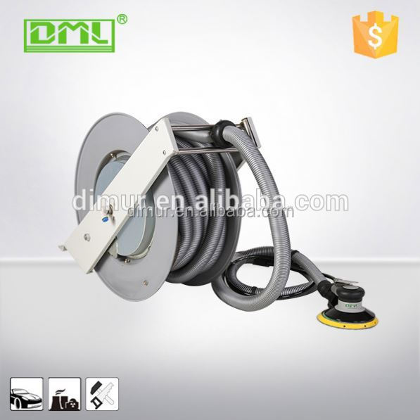 High quality automotive vacuum fixed vehicle exhaust extraction hose reels