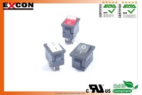12(4)A 250V T125 55 rocker switches for household appliance