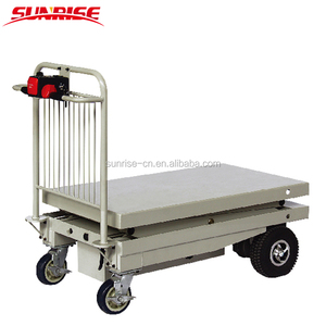 2018 High Performance Motorized Battery Powered Electric Warehouse Hand Trolley