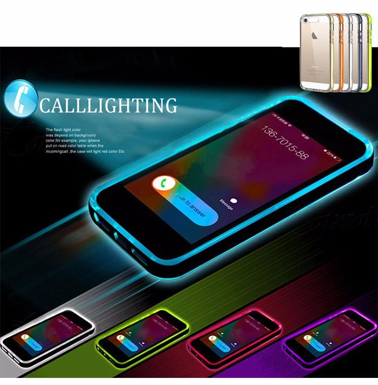 flashing iphone 7 case