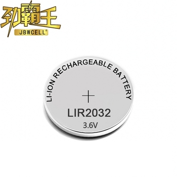 3 v batteria al litio ricaricabile cr2032 LIR2032 ML2032