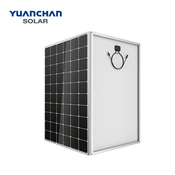 Black frame and backboard mono 265 w solar panel from Jiangsu professional factory
