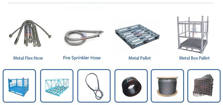 जस्ती इस्पात फूस/Foldable धातु बॉक्स कंटेनर फूस/भारी शुल्क भंडारण स्टील फूस बॉक्स