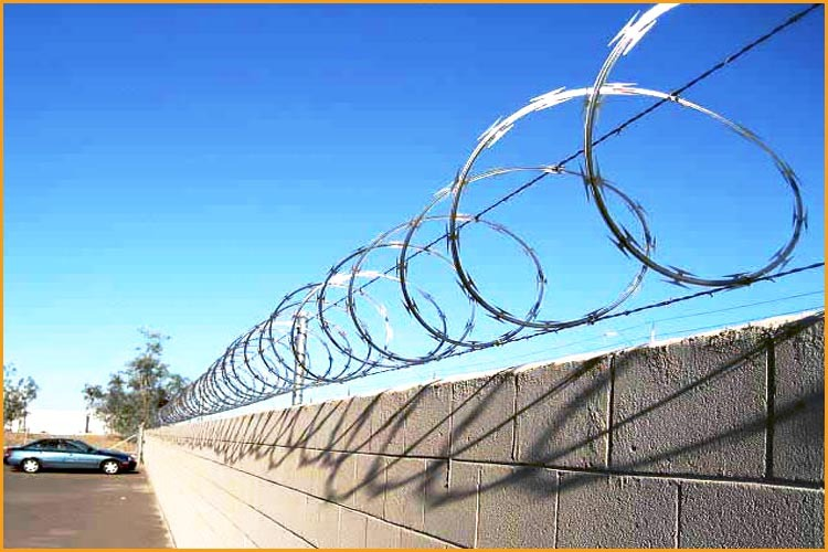 Wholesale High Security Razor Barbed Wire Fence - Buy Razor Barbed ...