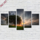 Custom-made Fabric Scenery Print Type Canvas Picture Natural Tree Panel Paintings