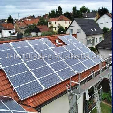 Solar Mounting System, Solar Collector On Roof, Solar Energy PV System Installed On The Roof