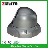 One way audio Vandal-proof web camera,Metal casing Sistema TVCC digital IP camera