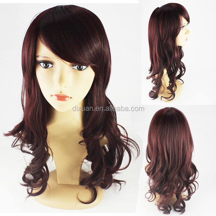 High Temperature Wire Wig Rose Network Big Curly Wigs Wholesale Price TH-01
