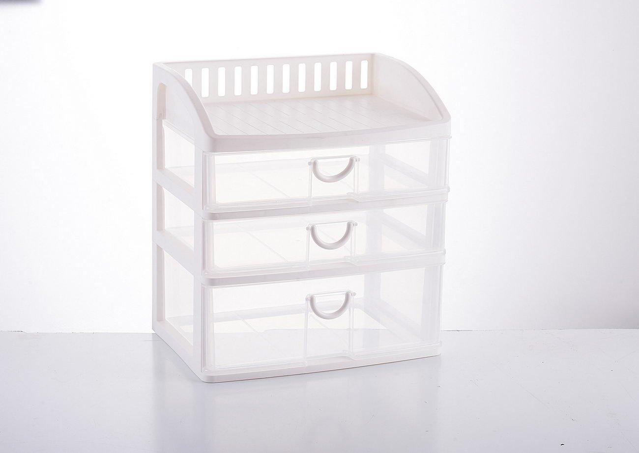 jii2030shann transparent plastic storage box drawer cosmetic storage box desktop large office drawer cabinet, plastic storage box, cosmetic storage box, multilayer drawers, storage box, office drawers