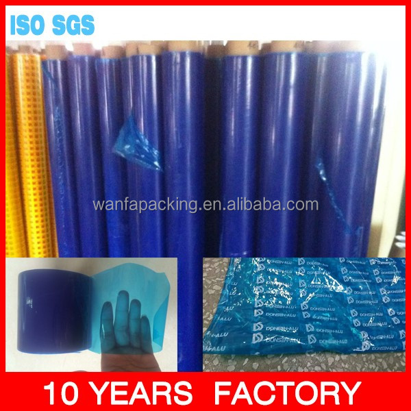 window film stick film Blue color