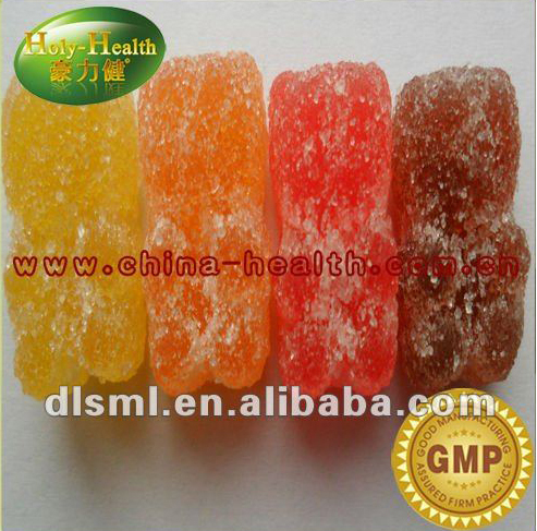 Halal gelatin vitamin bear shape candy and sweets
