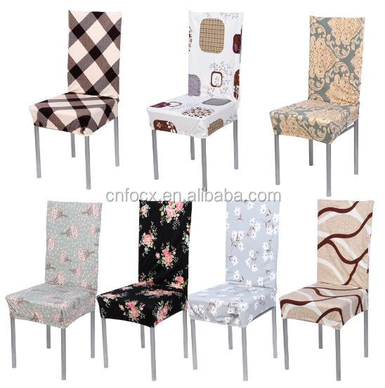 7 Color Cotton Blend Chair Covers / Elastic Slipcovers / Folding Chair Cover Set