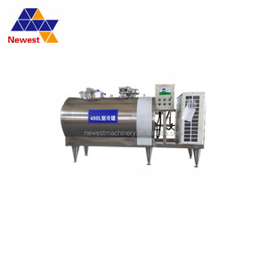 2018 hot selling milk cooling storage tank ,used refrigerated milk cooling tank/tanks ,milk chilling tank with cheap price
