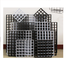 <span class=keywords><strong>Draad</strong></span> Muur Rooster, Panel Grid Fotowand voor Foto Opknoping Display Metalen Rooster Muur Decor Organisator Mesh Panelen Display