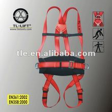 CE 증명서를 Safety Belt; ~ 붙은 Men's 걸 이식 Working 풀 몸 Safety Harness