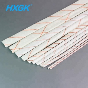 China Supplier Electrical Insulation Tube Cable Sleeve 3.5mm PVC Coated Fiberglass Braided Sleeving