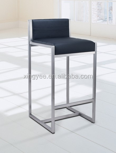 Modern bar chair furniture counter stool home goods high chair brushed  stainless steel bar stool genuine. Modern Bar Chair Furniture Counter Stool Home Goods High Chair