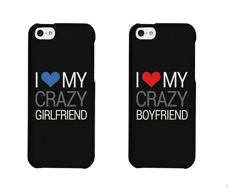 I Love My Crazy Boyfriend and Girlfriend Couples Matching ...