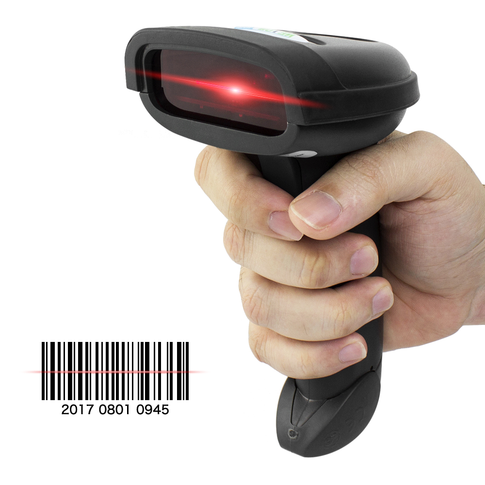 Bluetooth laser Wireless Barcode Scanner With Rich Interface NT-1698W