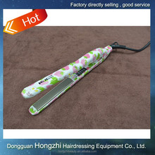 low price personal use ceramic hair straightener iron brush
