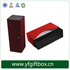 Custom Folding Magnetic Cardboard Wine Glass Gift Boxes Wholesales