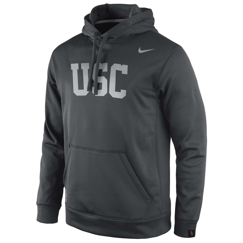USC Trojans Platinum KO Hooded Sweatshirt
