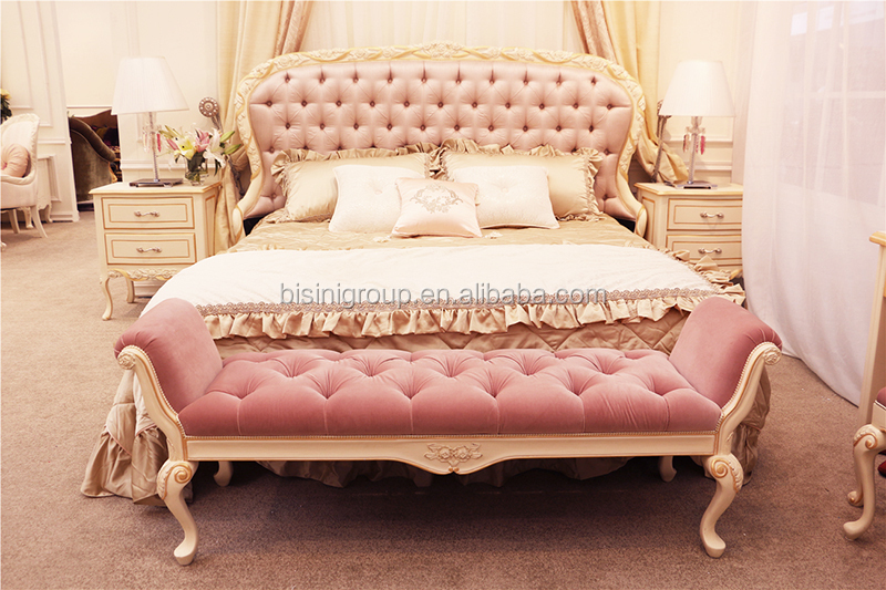 Vintage retro versailles baroque carved solid wood bed - Sillones retro vintage ...