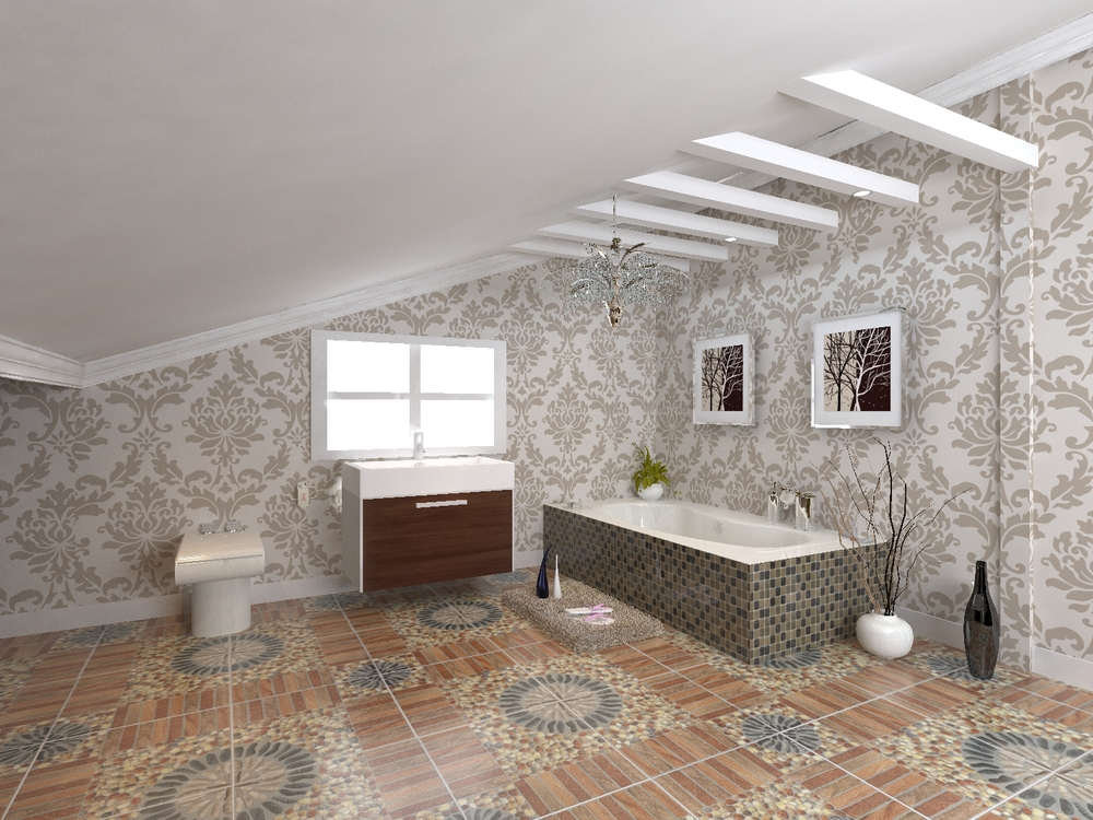 Hs40303 Anti Slip Floor Tile/bathroom Tile Spanish/4x4 ...